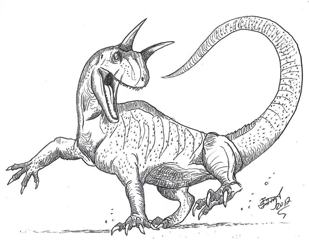 1024x813 Shringasaurus By Hodarinundu