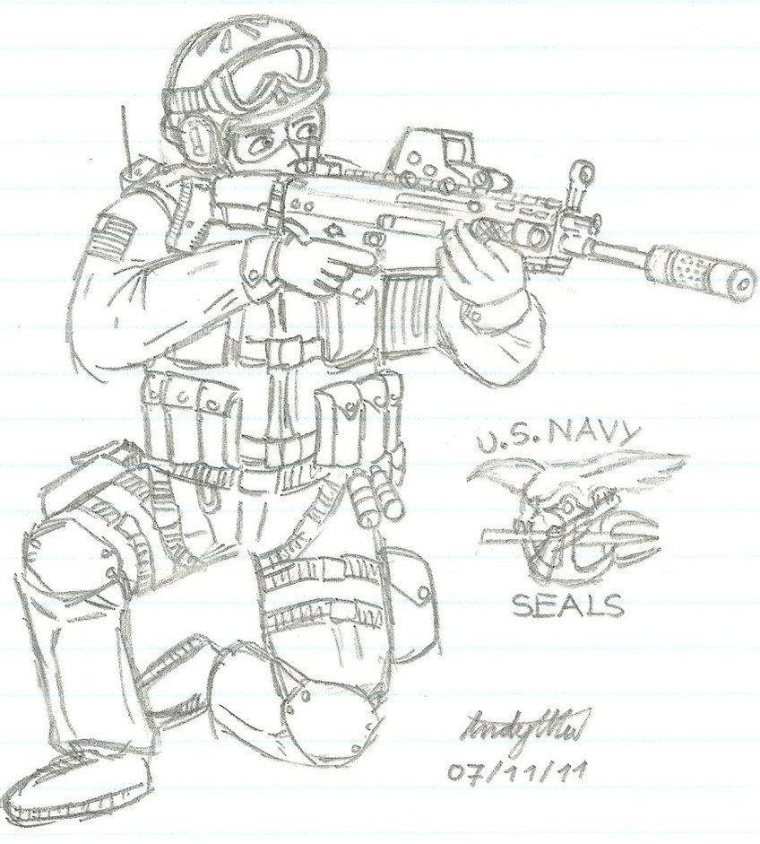 848x941 Us Navy Seal Team 6 By Ndtwofives