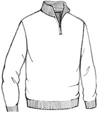 200x230 3 4 Sleeve Cardigan Sweater