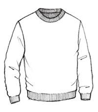 sweater drawing at getdrawings com