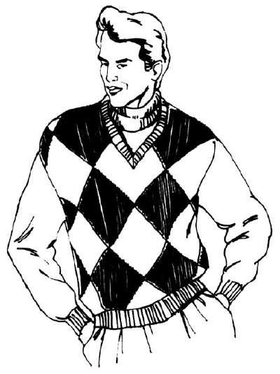 400x533 How To Draw People Man In A Casual Sweater Howstuffworks