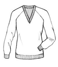 200x230 Gray Cardigan Sweater