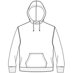 how to draw oversized clothing