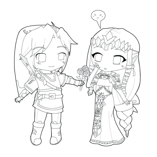 600x600 Cute Couple Coloring Pages