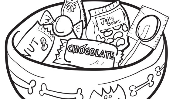 580x326 Amazing Candy Coloring Pages 50 For Printable With