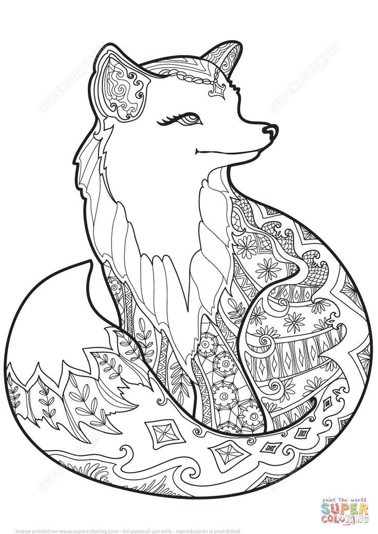 Swift Fox Drawing at GetDrawings