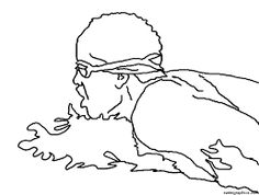 236x178 Image Result For Swimmer Line Drawings Cake Toppers