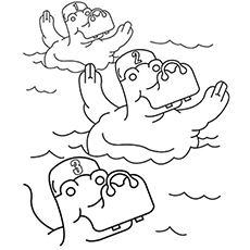 230x230 Top 10 Free Printable Swimming Coloring Pages Online