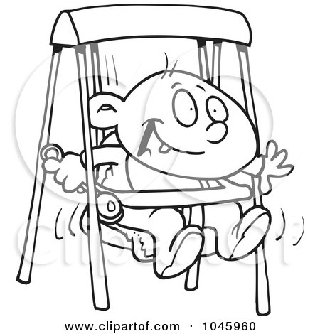 450x470 Royalty Free Stock Illustrations Of Swings By Toonaday Page 1