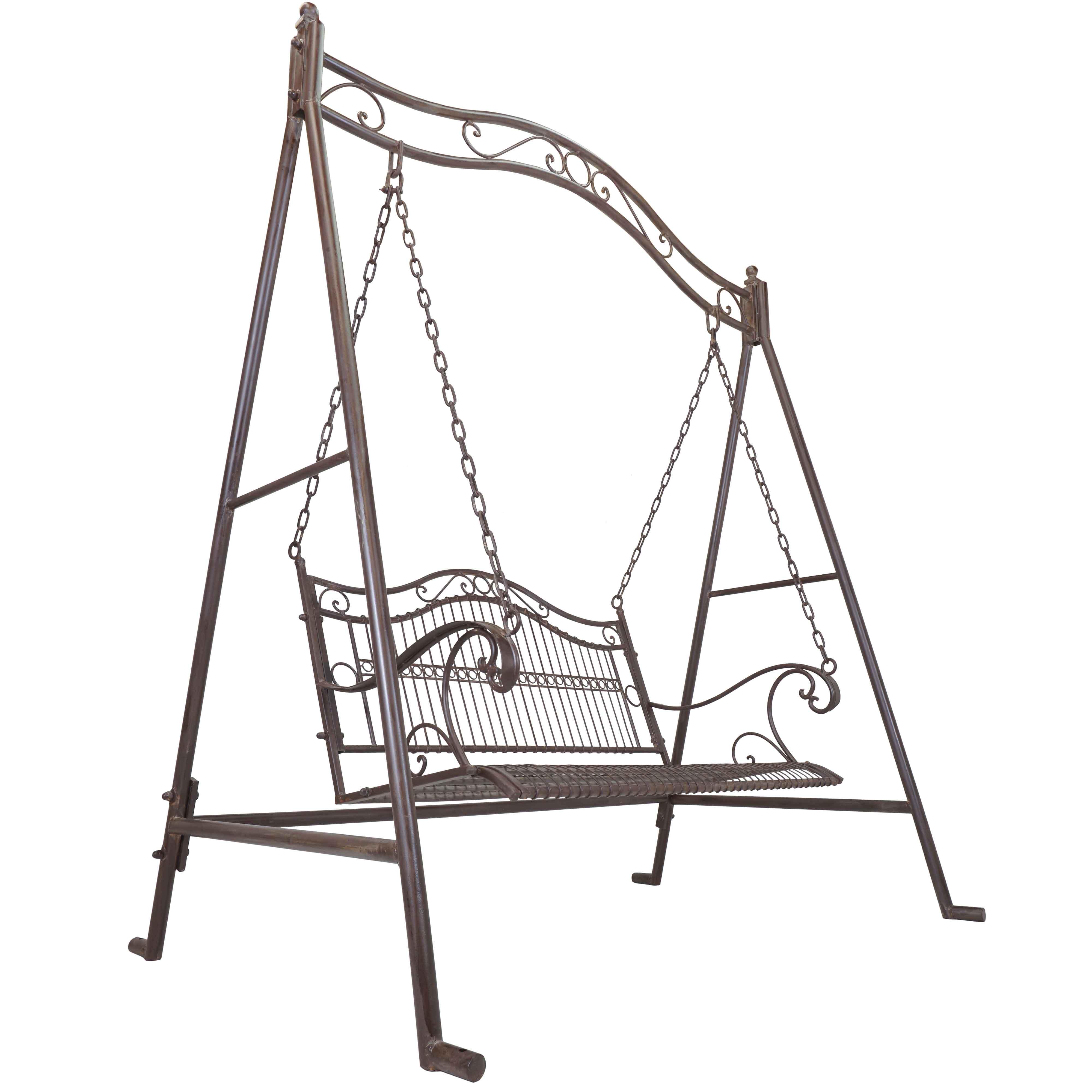 4000x4000 Titan Outdoor Rustic Antique Porch Swing Bench Patio Garden Deck