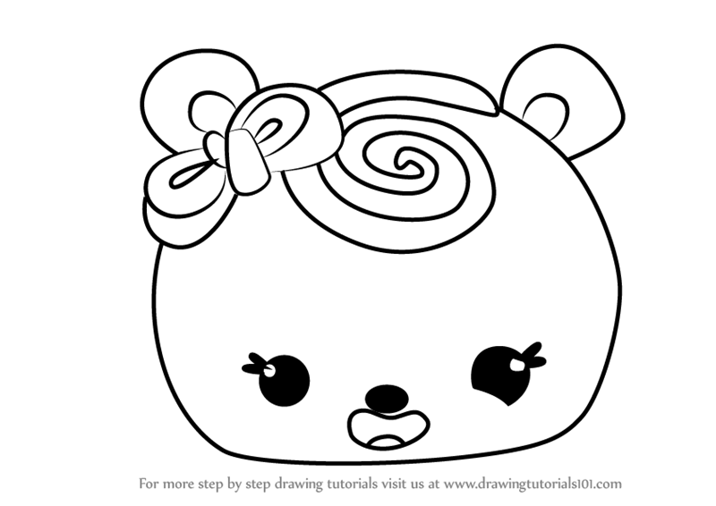 800x566 Learn How To Draw Minty Swirl From Num Noms (Num Noms) Step By
