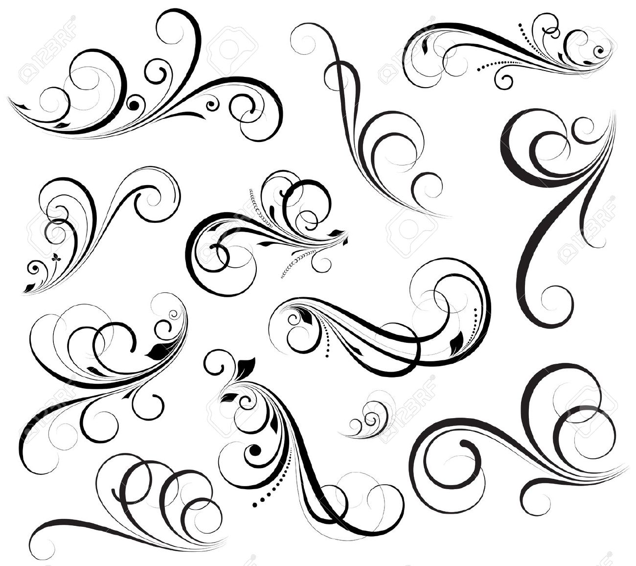 1300x1156 Swirls Vectors Royalty Free Cliparts And Stock