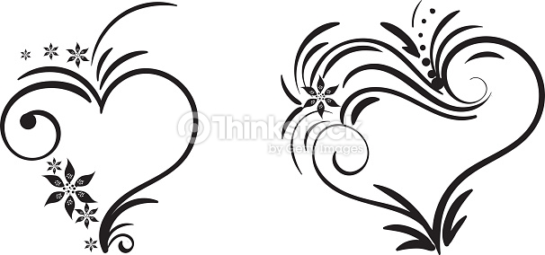 606x284 Drawn Swirl Heart