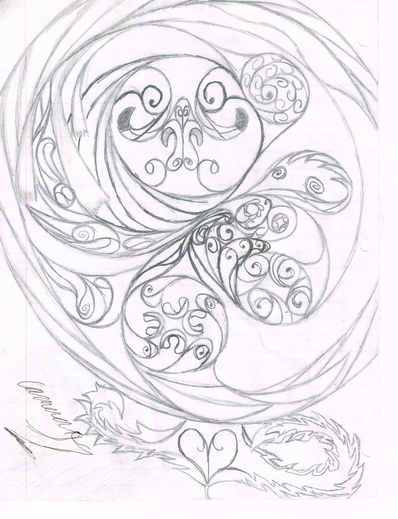 783x1020 Free Time Swirly Swirlies By Lined Paper Sketcher