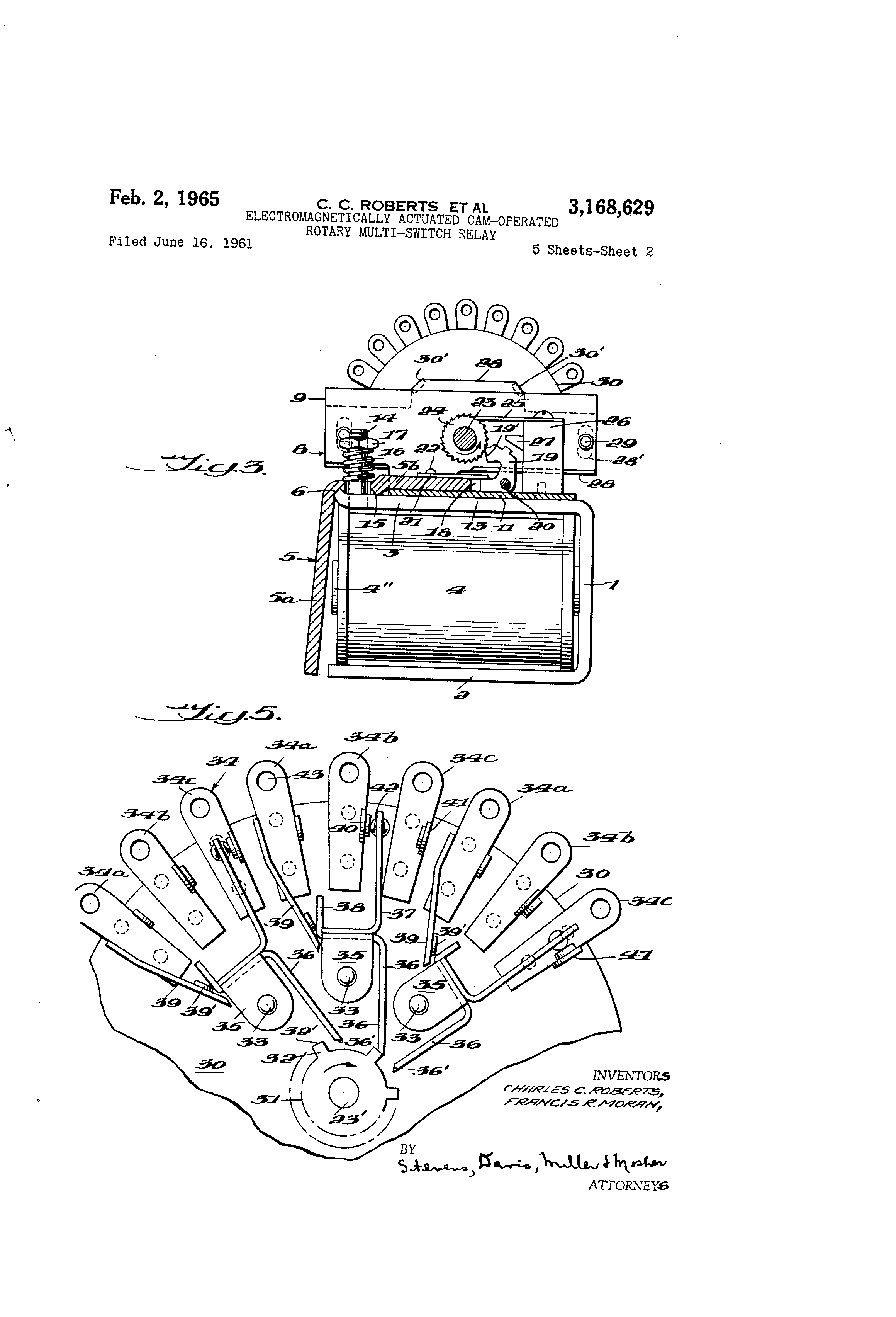 Switch Drawing At Free For Personal Use Relay 2320x3408 Patent Us3168629