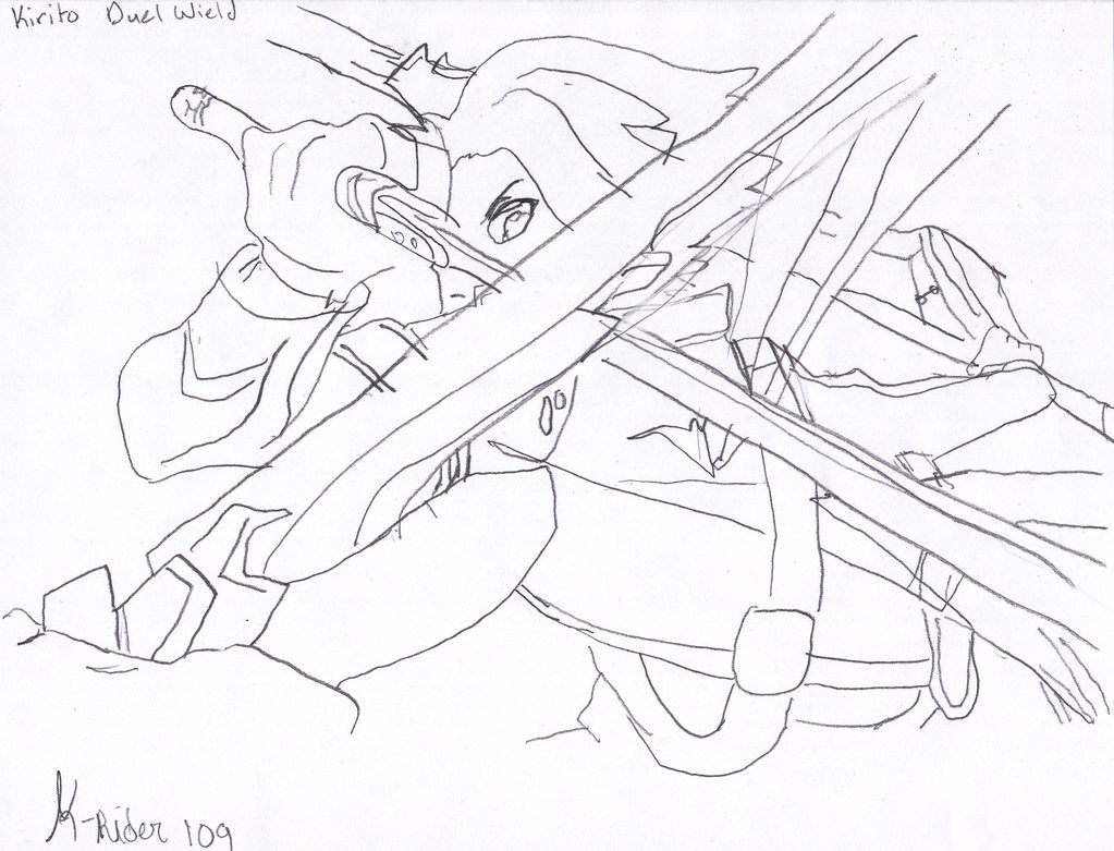 Sword Art Online Drawing