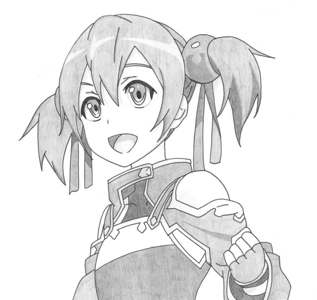 Sword Art Online Drawing at GetDrawings.com   Free for personal use ...