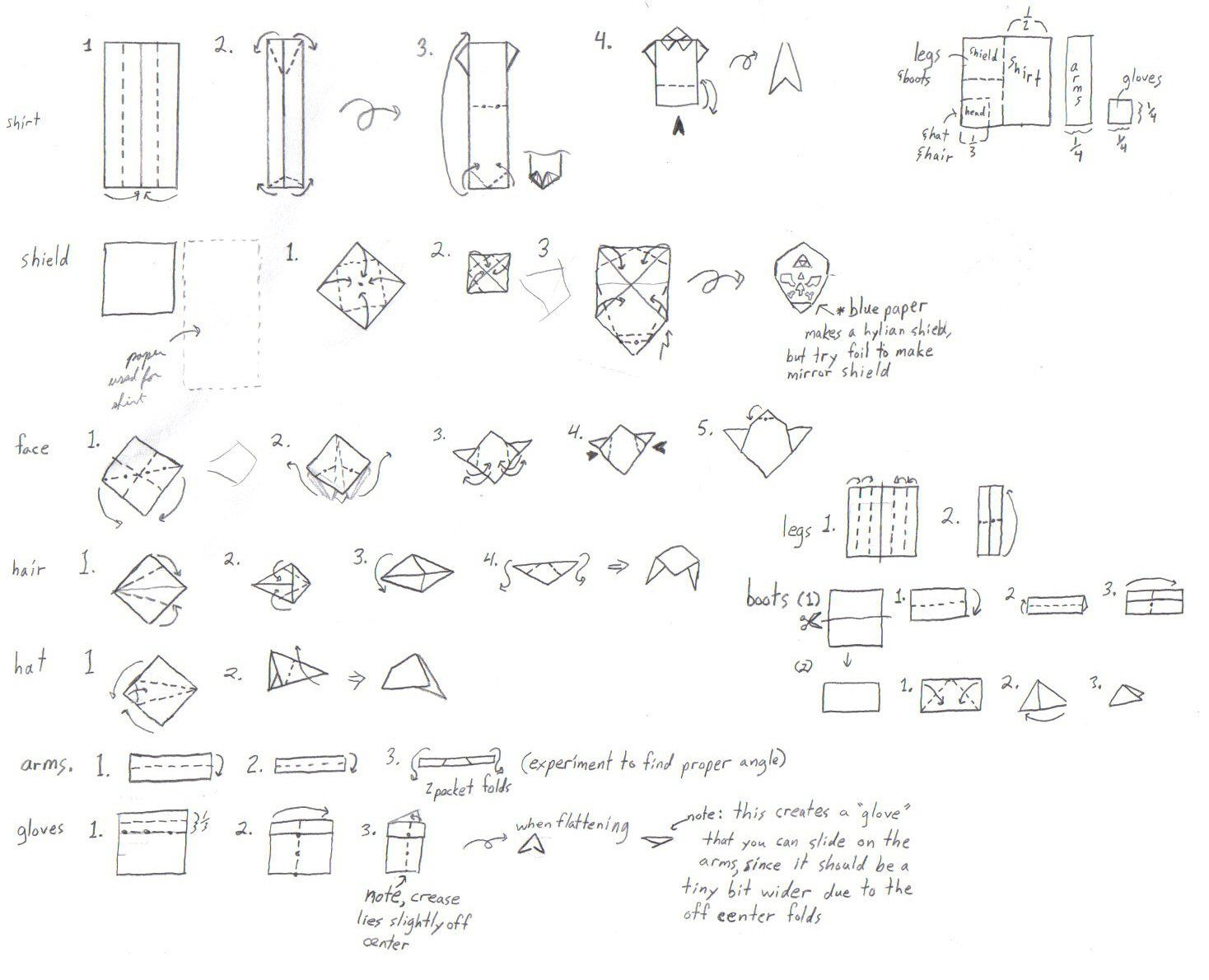 1468x1190 Origami Sword Instructions Gallery