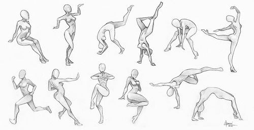 500x257 Pin By Michele Severgnini On Poses Art Reference