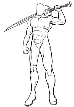 236x343 Sword Fight Reference Stock 18 By Random Acts Stock Poses