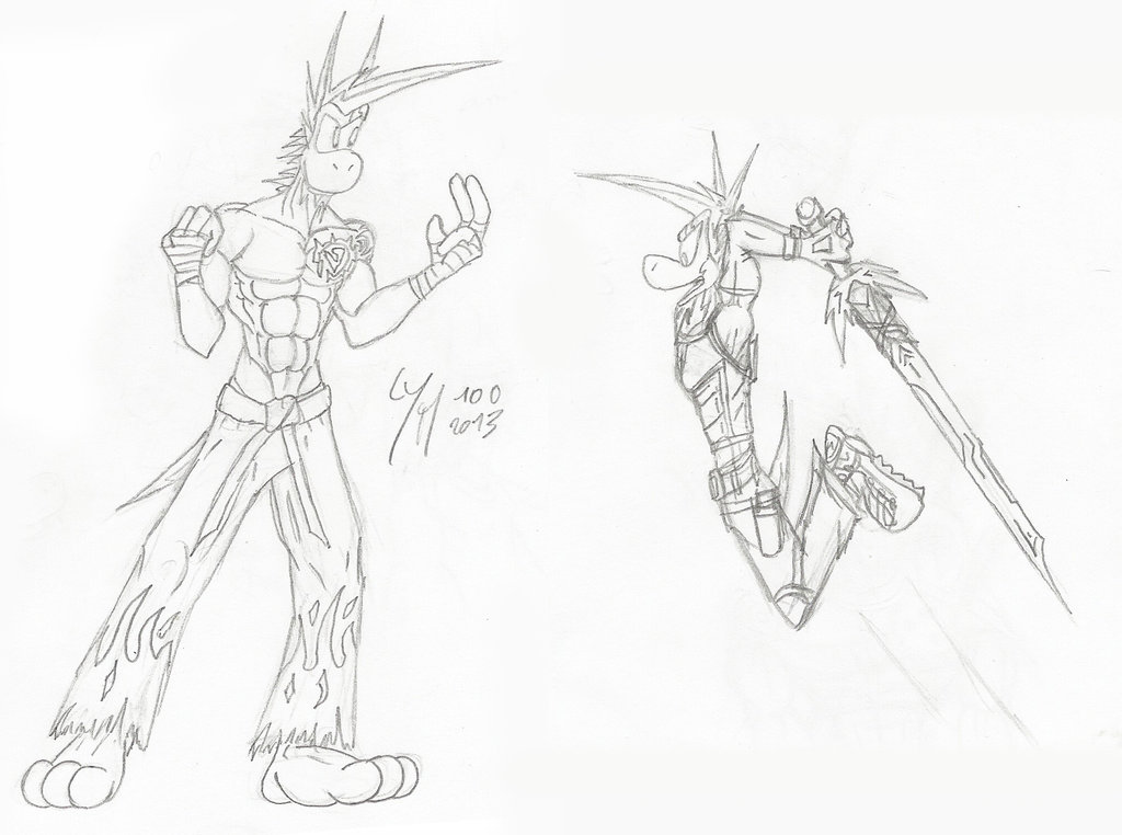 1024x762 Wip] Yetshi's Fight Poses By Mctaylis