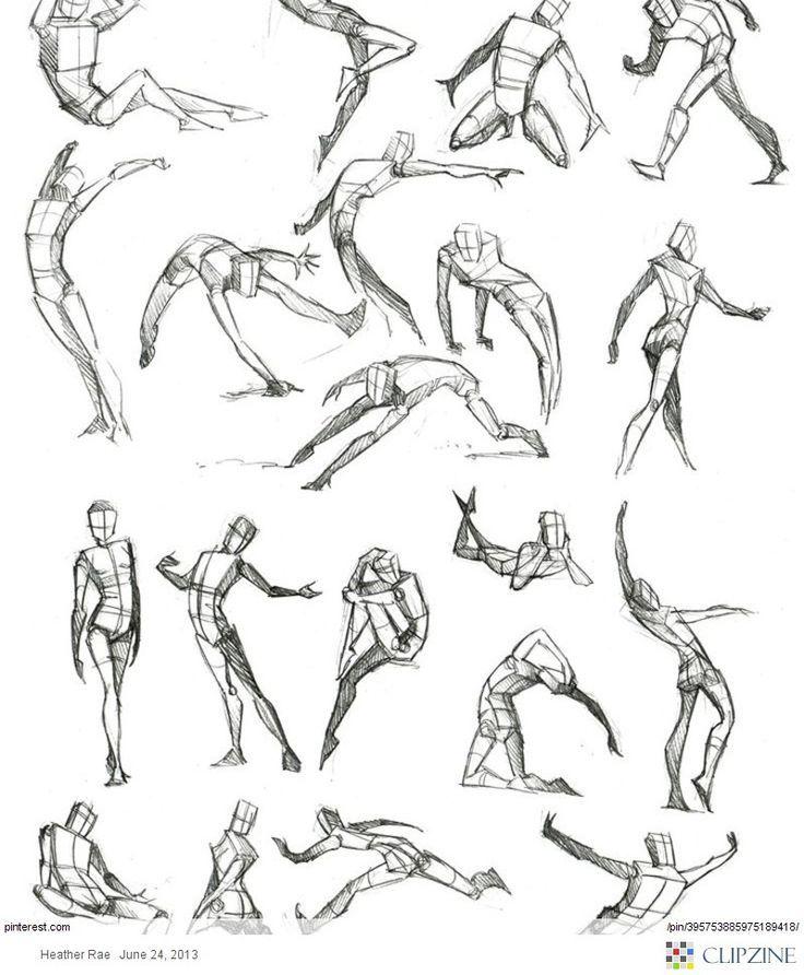 736x892 Anatomy Pose, Art