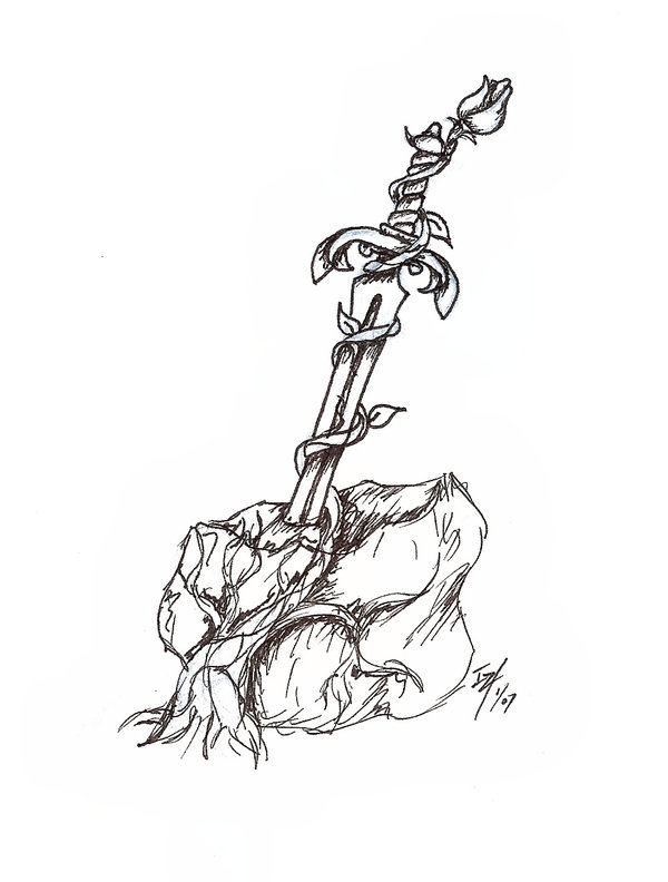 600x792 Drawn Sword Sword In Stone
