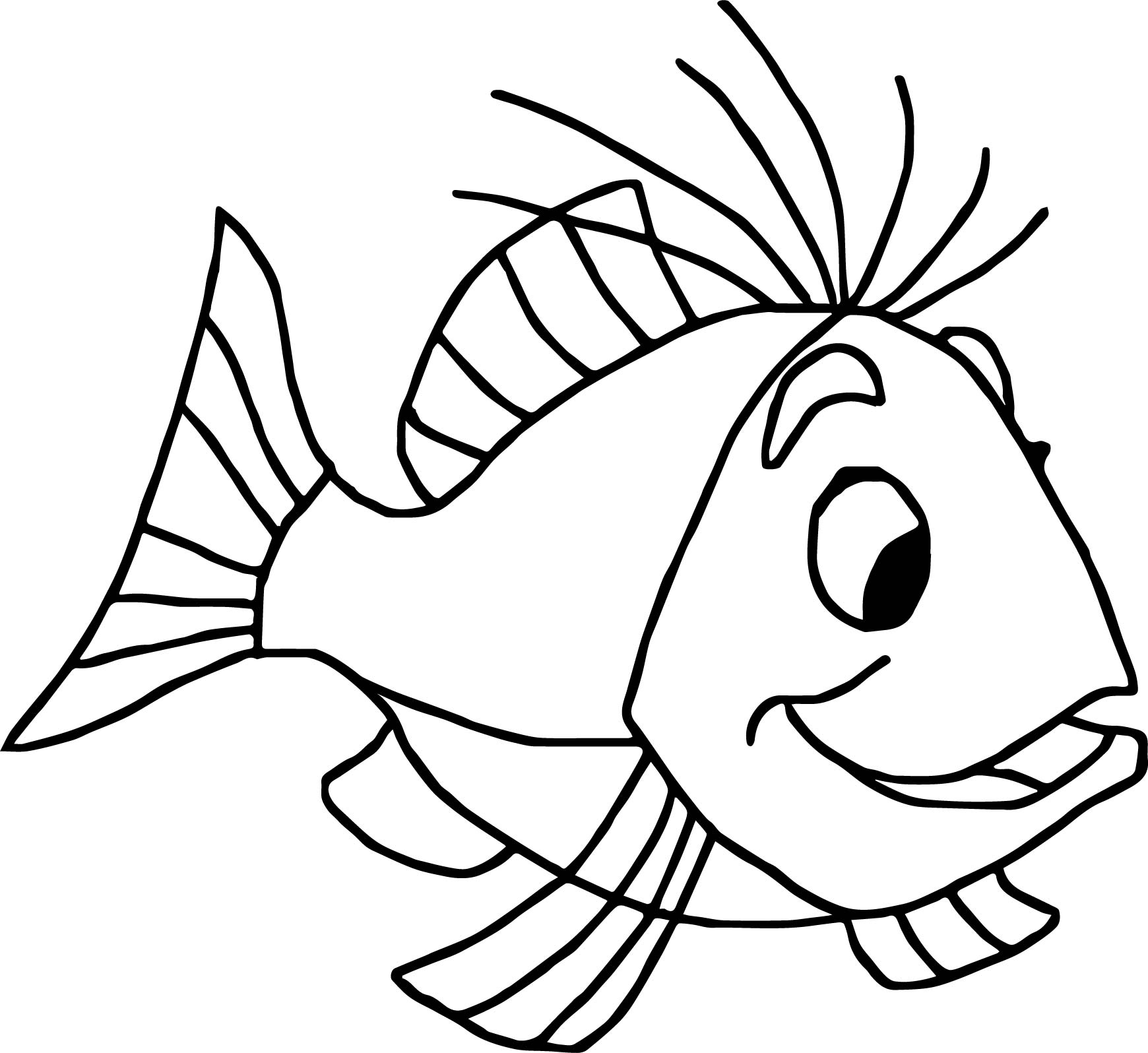 1740x1596 Swordin Stone Fish Coloring Page Wecoloringpage