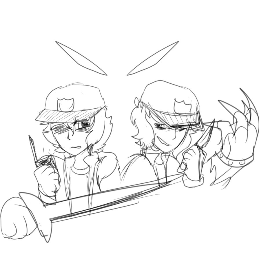 894x894 Wow I Cant Draw Swords By Evaeevee