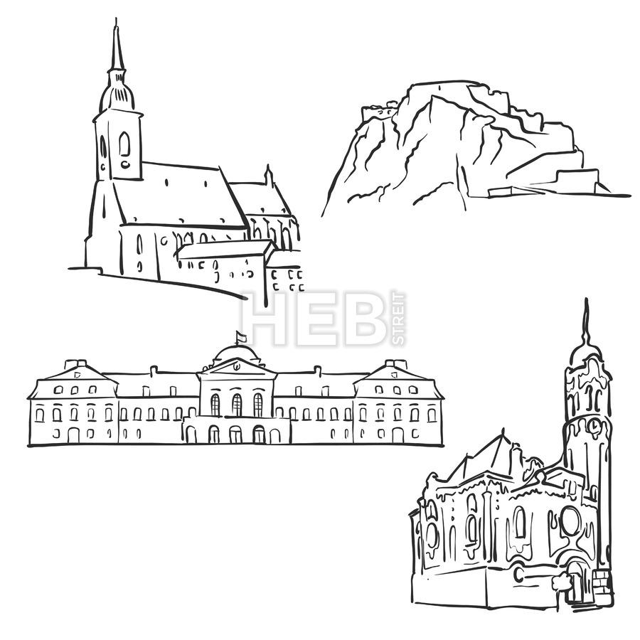 900x900 Bratislava, Slovakia, Famous Buildings Famous Buildings