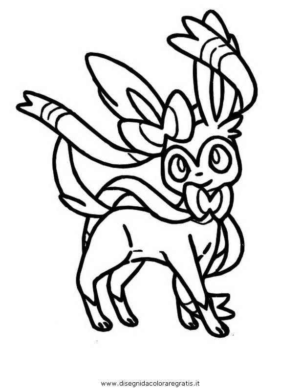 sylveon coloring pages | Sylveon Drawing at GetDrawings.com | Free for personal use ...