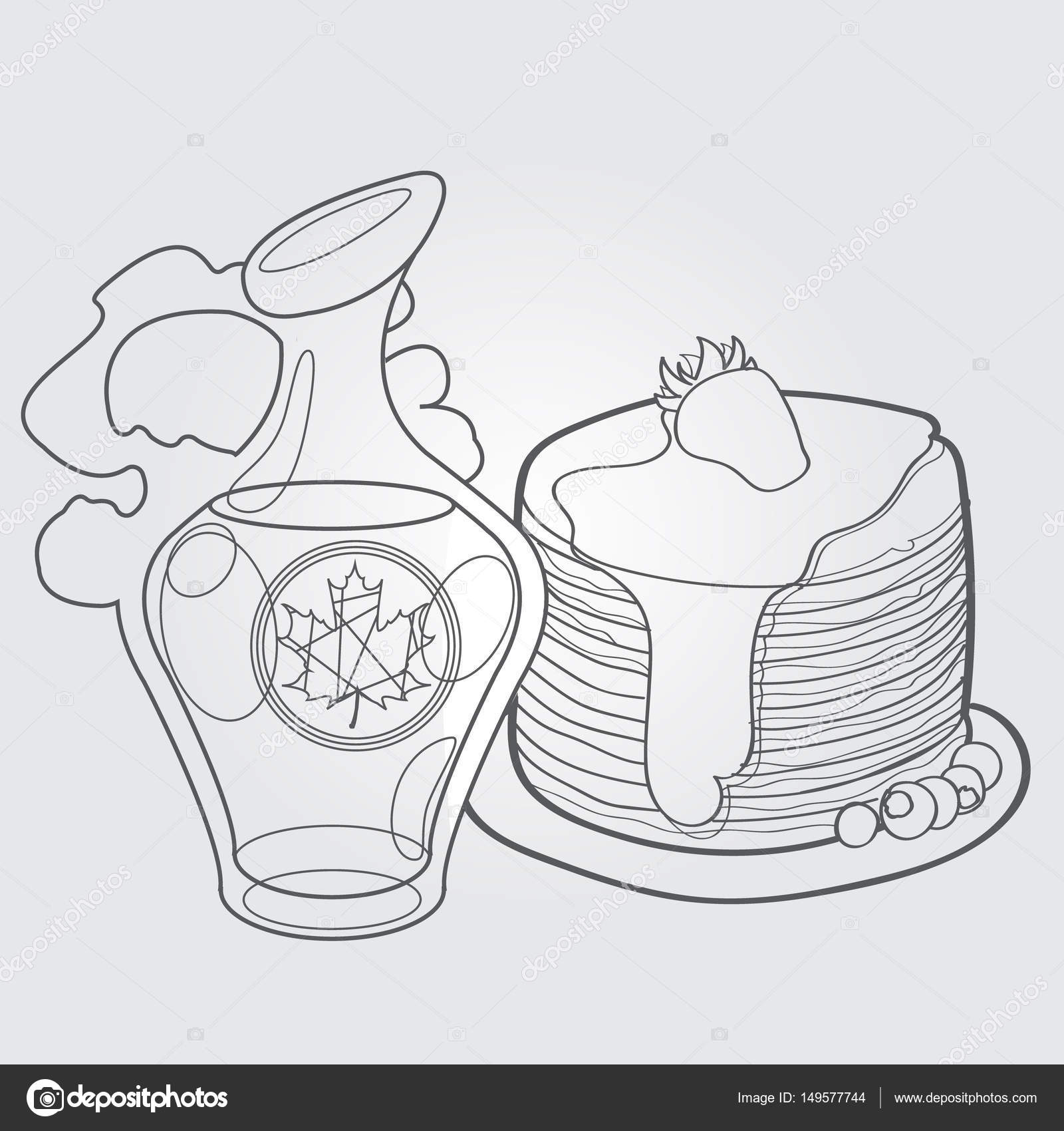 Syrup Drawing at GetDrawings.com   Free for personal use Syrup ...