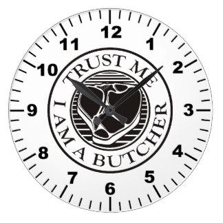 324x324 Steak Wall Clocks Zazzle