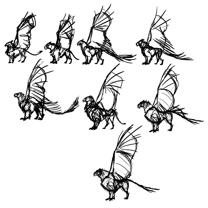 700x700 How To Draw A Griffin