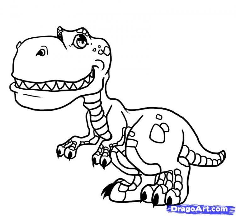 750x687 Dinosaur Drawing T Rex Tags Dinosaur Cartoon Drawing Dinosaur