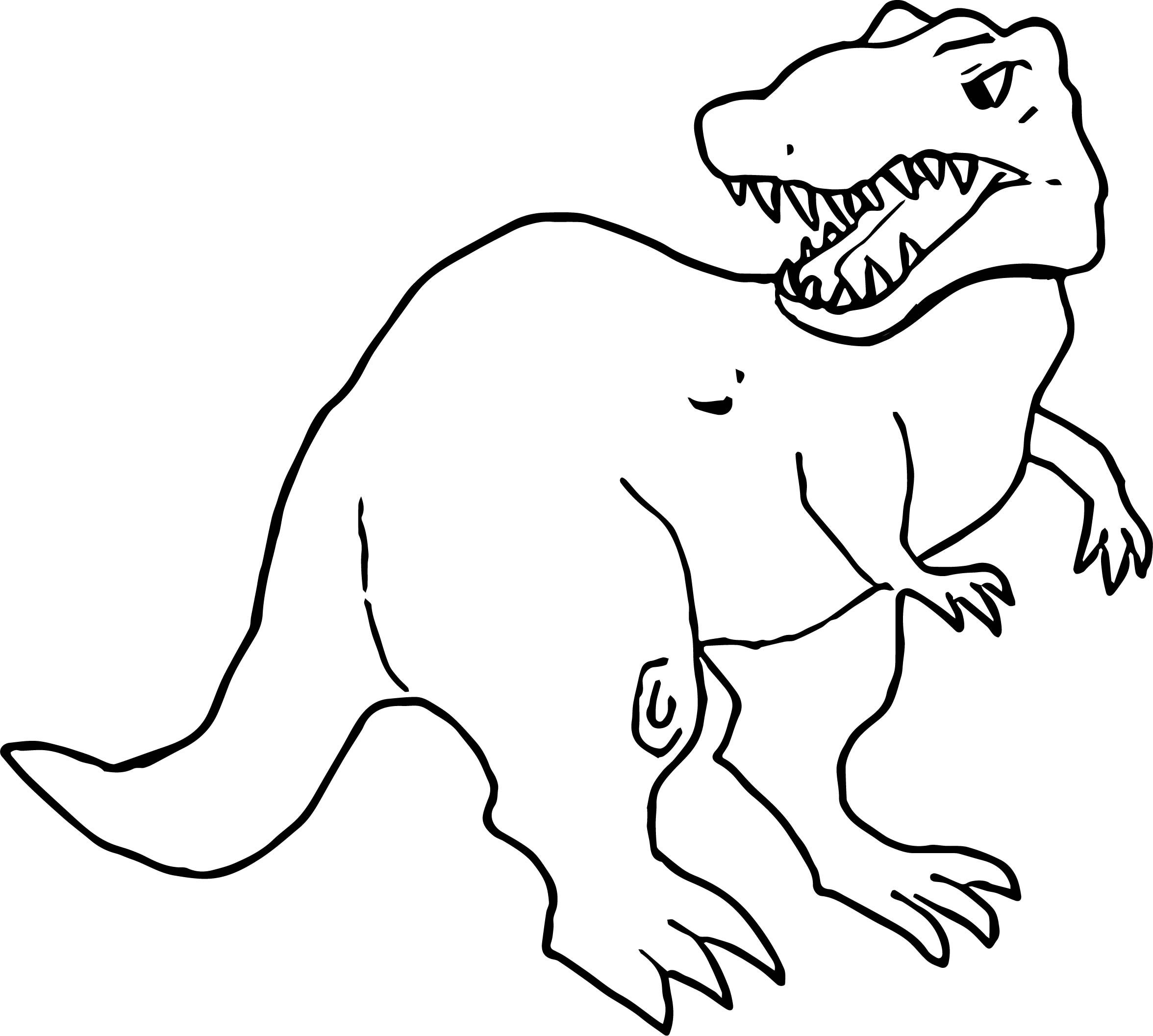T Rex Cartoon Drawing at GetDrawings.com | Free for personal use T ...