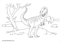 200x142 Dinosaur Coloring Sheet