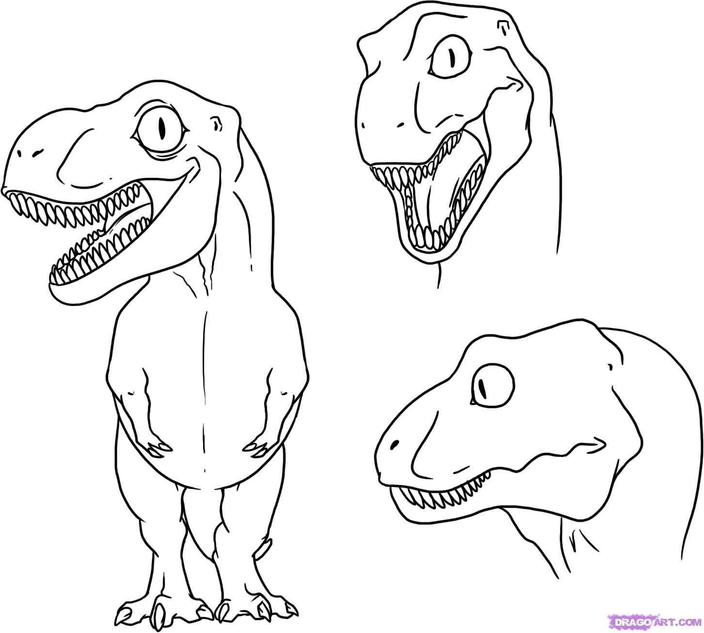 1452x1305 How To Draw A Baby Dinosaur, Step By Step, Dinosaurs, Animals