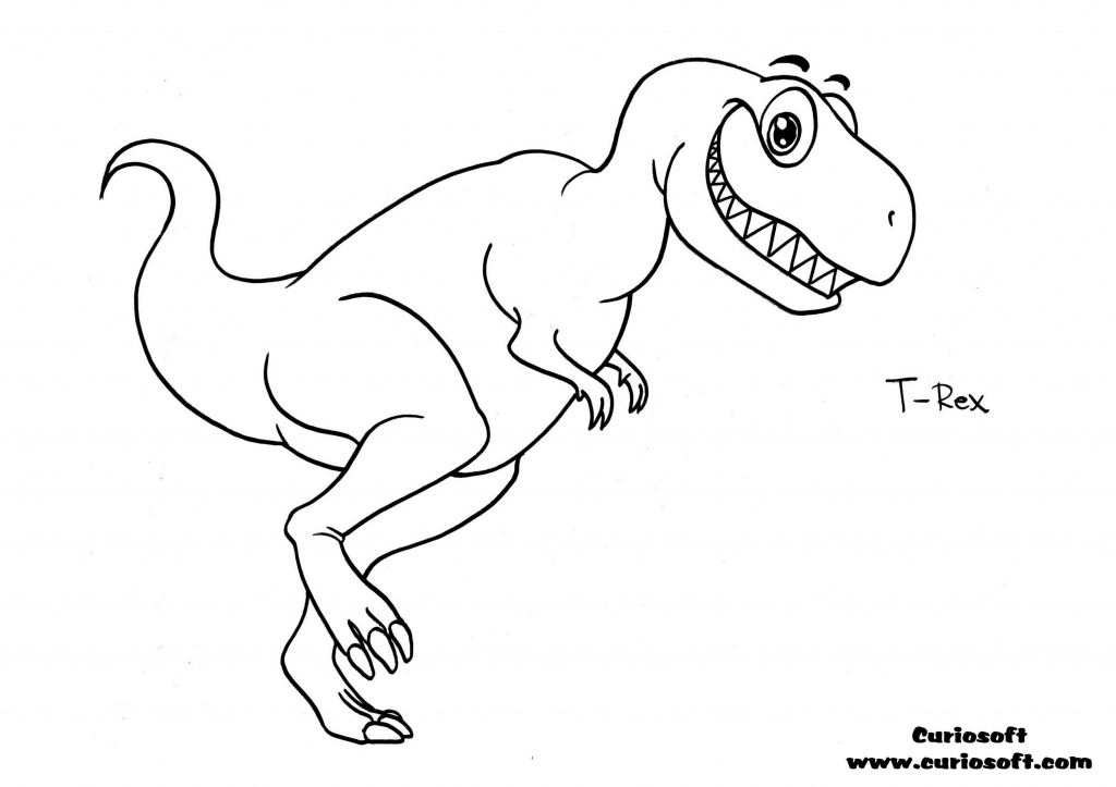 1024x723 T Rex Drawing Dinosaurs Drawing T Rex Dinosaur World