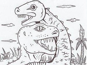 300x224 T Rex Drawings Fine Art America