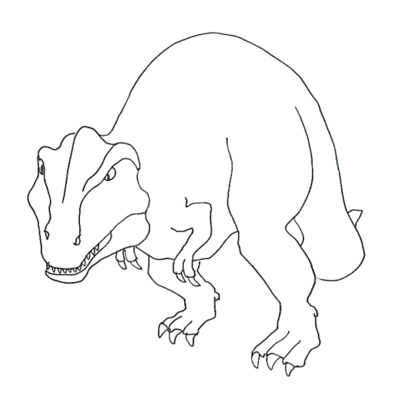 1275x1322 Tyrannosaurus Rex Coloring Pages Kids Colouring Pages
