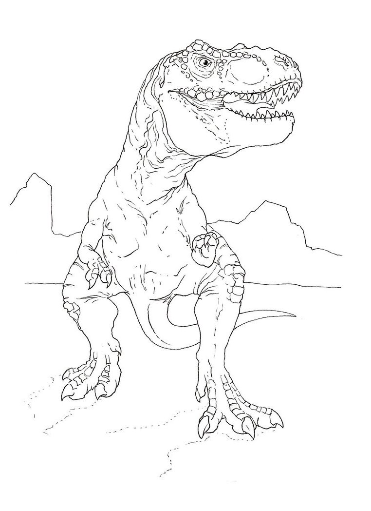 762x1048 Drawing Park Colouring Pages