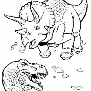 300x300 Kids Drawing Of T Rex Coloring Page Color Luna