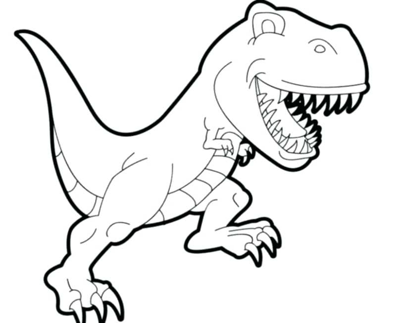 816x653 Trex Coloring Page Online T Coloring Pages T Rex Head Coloring