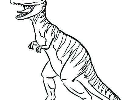 440x330 Best Of T Rex Coloring Pages For Printable T Dinosaur Coloring