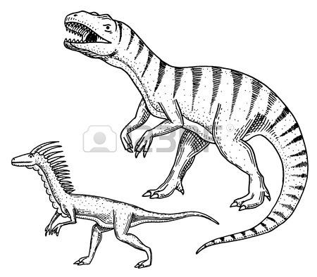 450x394 Tyrannosaurus Rex Vector Stock Photos Amp Pictures. Royalty Free