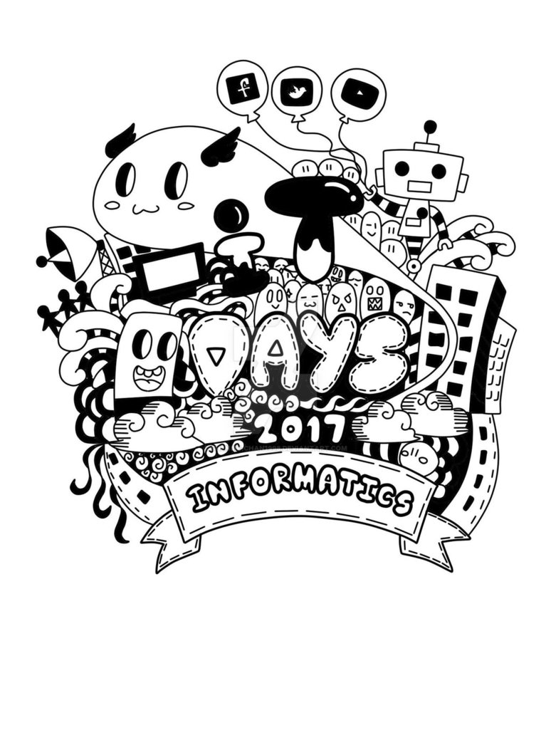 774x1032 Doodle T Shirt Design By Shenjie Chan1998