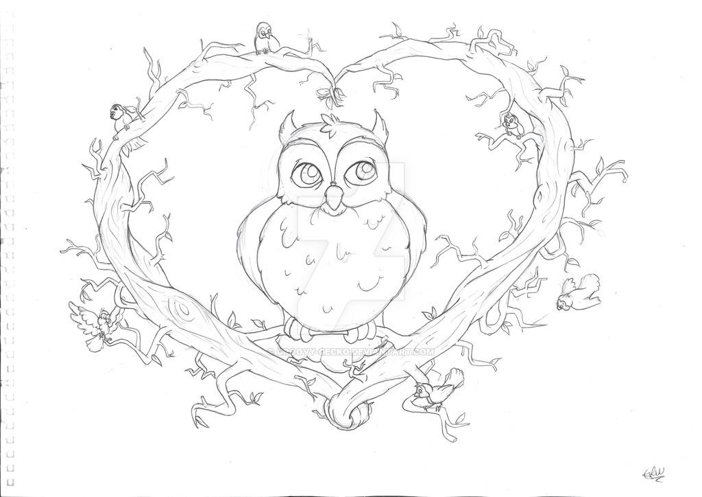 1024x724 Owl T Shirt Design
