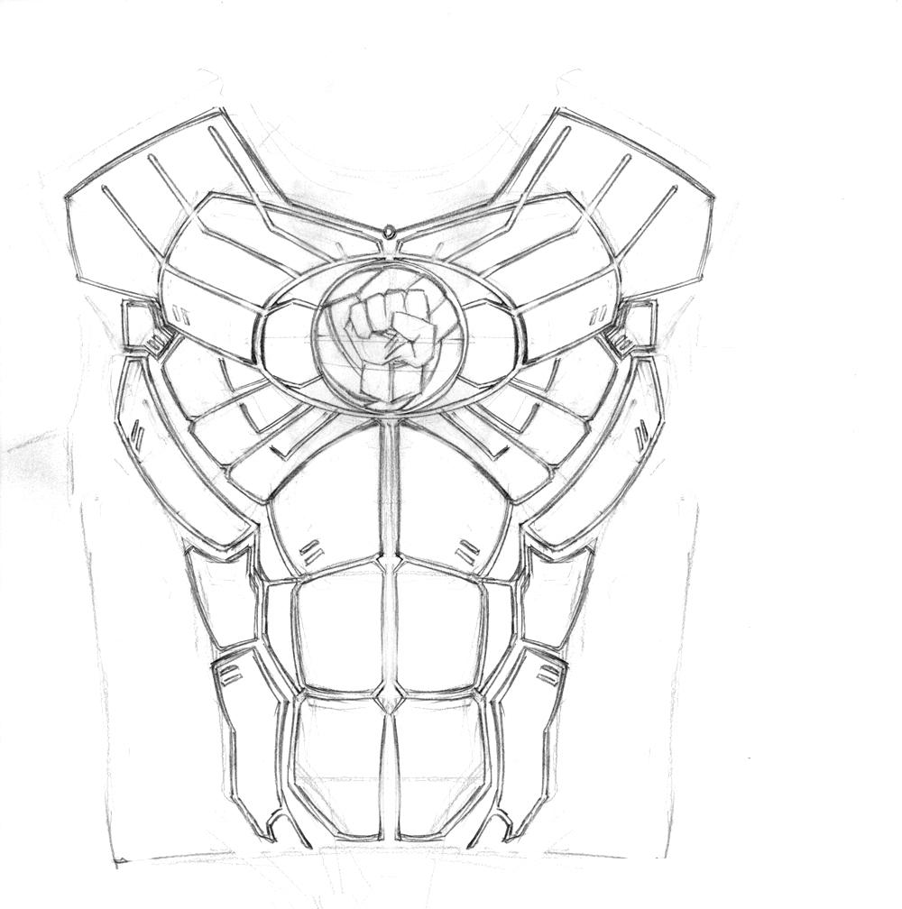 1000x1008 Iron Fist T Shirt Design By Giberwitz