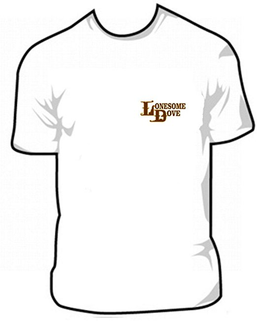 522x652 Lonesome Dove Logo T Shirt Small Thru Xxxl Clothing